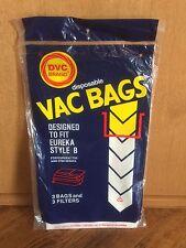 NEW :  EUREKA STYLE B VACUUM CLEANER BAGS - SERIES 1700 & 3700