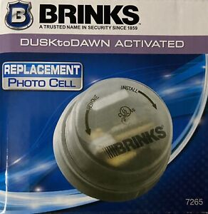 Brinks Photo Cell Sensor Dusk to Dawn Activated HID Replacement Model 7265