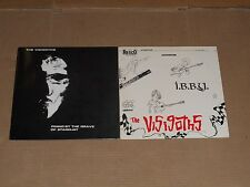 THE VISIGOTHS lot 2x LP pining by grave of stardust I.B.B.Y rexco garage punk