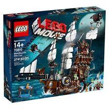Brand New LEGO Movie Metal Beard's Sea Cow 70810 - Factory Sealed