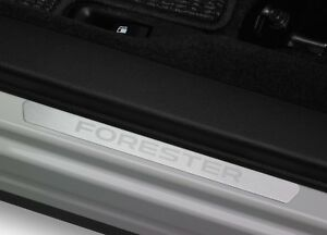 2014-2018 Subaru Forester OEM Front Side Sill Plates (Set of 2) - E101SSG000