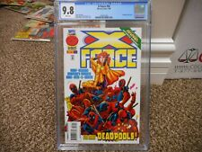 X-Force 56 cgc 9.8 Marvel 1996 GREAT cover Too Many Deadpools Jeph Loeb MINT WHT