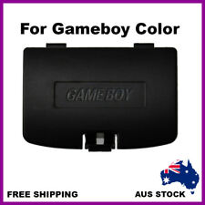 Nintendo Gameboy Color Battery Replacement Back Door Cover Case Lid Black