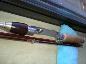 Vintage,J.C.Higgins (Sears) Travel Rod 6' 4pc.2-10lb.Exc.