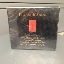 ELIZABETH ARDEN DUAL PERFECTION BROW SHAPER & EYELINER  NIB  - 05 EBONY -