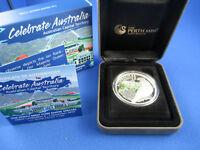2010 Celebrate Australia.Australian Capital Territory,1oz Silver Proof Coin ANDA