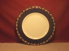 Wedgwood China Whitehall 2000 Dark Blue Pattern Dinner Plate
