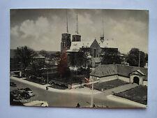 Dänemark ca. 1955: Alte AK Postkarte Roskilde Domkirche/Domkirke