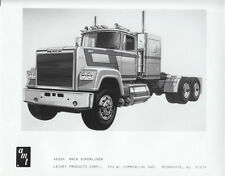 "AMT / Lesney b & W press release picture ""Mack Superliner"""