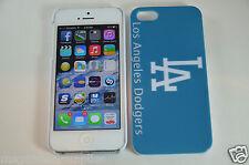 Los Angeles LA L.A. Dodgers MLB Baseball Hard Plastic Full Back Case iPhone 5 5S