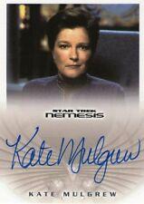 Kate Mulgrew + + autógrafo + + Star Trek + + Kathryn Janeway + + Autograph