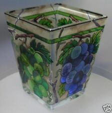 AMIA HAND PAINTED GLASS  PETITE VOTIVE  PVO6077  MIB