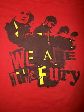 WE ARE THE FURY CONCERT T SHIRT Glam Rock Indie Venus Infinite Jest Toledo SMALL