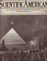 1913 Scientific American October 11-Baseball Scoreboard