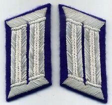 gradi SANITÀ da UFFICIALE per l'uniforme tedesco/ MEDICAL Waffenrock collar tabs