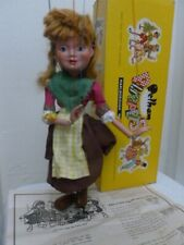 """PELHAM PUPPETS """" GRETEL """" EARLY VERSION IN CORRECT EARLY BOX"""