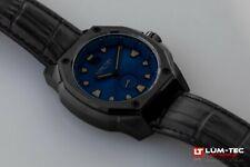 Lum-Tec Watch V12 Phantom Mens Blue Dial Big Date Limited Edition AUTH DEALER
