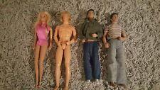 Lot (2) Vintage 1984 Michael Jackson Figure Doll by LJN Toys & Ken Barbie Hair