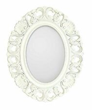 Wooden Frame Oval Contemporary Decorative Mirrors