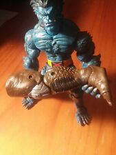 Marvel Legends Cull Obsidian right leg from Black Knight BAF piece ONLY
