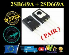1 Pair - 2SB649A + 2SD669A (D669A + B649A) TRANSISTOR TO-126 (PAIR) - NEW