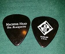 Machine head the blackening guitar pick