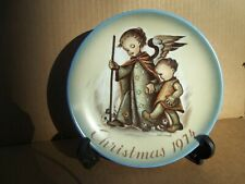 1974 Hummel Christmas Plate Limited Edition in Original Box