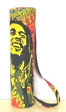 4 PC Ensemble Bob Marley Grand Tapis de Yoga Porte Exercice Gym Coton Sac Épaule