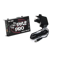Pyle Pro Pre Amplifier Phono To Stereo RCA PreAmp Turntable To Line Level Amp