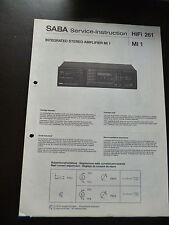 Original Service Manual  Saba  MI 1