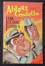 1989 ABBOTT AND COSTELLO The Classic Comics v.1 VG/FN 5.0 SC 1st Malibu Graphics