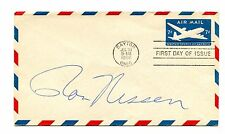 Autograph RON NISSEN Pres Ford Press Secretary on FDC Air Mail Stationery 1958