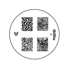 MoYou Nail Fashion Stamping Nail Art Image Plate 98 DIY Leopard Print Manicure