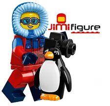 NEW LEGO Minifigures Wildlife Photographer Series 16 71013 Genuine Penguin Mini