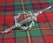 Neu Schottisches Highland Premium Stahl 10.2cm Hirschkopf Schwert Kilt /