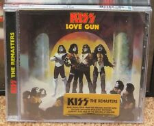 KISS LOVE GUN REMASTERED USA CD SEALED WITH GOLD STICKER