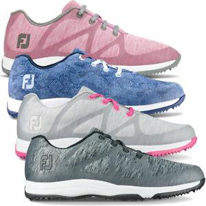 FootJoy Leisure Women's Waterproof Lightweight Mesh Golf Shoes - Wide Fit