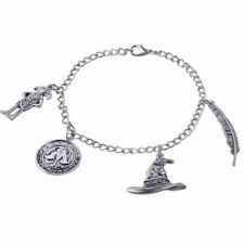 Silver Plated Harry Potter Bracelet Chain Multi-element Alloy Pendent Charm Gift