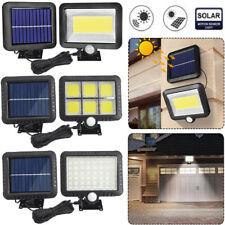 56-120 LED Solar Pir Motion Sensor Wand Lichter Außen Garten Lampe Wasserfest Au