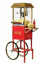 Popcorn Cart Popper 10 Oz Commercial Bar Machine Maker Original Nostalgia 59""