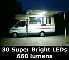 NEW 12v LED Awning Lighting Kit. For Caravan, Camper Van, Motorhome. 660 lumen