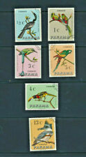Birds Panama Set of 6 Multicolor Native Wild Birds # 478-478E Complete 1967