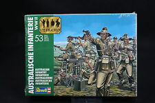 XP004 REVELL 1/72 maquette figurine 2501 Infanterie australienne WWII