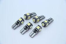 6x SMD LED Innenraumbeleuchtung BMW E90 E91 E92 E87 E81 E82 E70 E71 E84 F10 WEIß