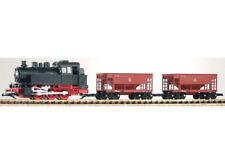 Piko 37100 - Gartenbahn Start-Set Güterzug BR 80 + 2 Schüttgutwagen, NEU & OVP