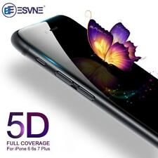 5D For Apple iPhone 6 6S Edges To Edges Tempered Glass Screen Protector-BLACK