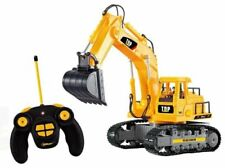 Remote Control Excavator RC Construction Tractor Electric 7 Channel Functional