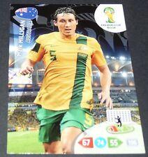 MILLIGAN AUSTRALIE SOCCEROOS FOOTBALL CARD PANINI FIFA WORLD CUP BRASIL 2014
