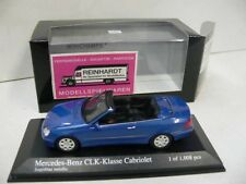1/43 Minichamps MB clk cabriolet 2003 azul-metálico 400031431