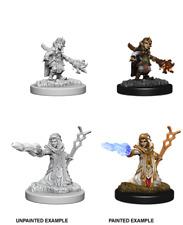 Gnome Female Wizard - Wizkids Miniatures - Dungeons & Dragons - WZK73383